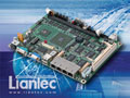 """Liantec EMB-5740 Industrial 5.25"""" Drive-size EBX VIA C7-Eden Multiple Ethernet EmBoard with Tiny-Bus Modular Extension Solution"""
