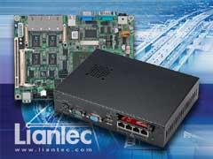 Liantec LPC-5740S VIA C7-Eden Multi-Ethernet Barebone Solution with Tiny-Bus Modular Extension Solution