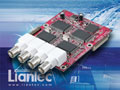 Liantec TBM-1420 Tiny-Bus PCIe Quad Channel Video Capture Module