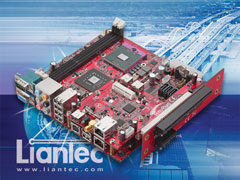 Liantec TBM-X1700 Tiny-Bus 1U Low Profile 2-Slot PCI Express Extension Module with One x16 PCIe Graphics and One x1 PCIe Extension Slot