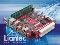 Liantec TBM-X2000P2 Tiny-Bus 1U Low Profile 2-Slot PCI Extension Module
