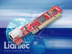 Liantec 1uPCI-1000 Slim 1U PCI Intel Gigabit Ethernet Card