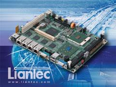 Liantec EMB-5842 : 5.25-inch Drive-size Intel Pentium M Multiple Gbit Ethernet Networking EBX Motherboard