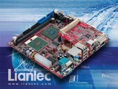 Liantec ITX-6810 Mini-ITX Intel Pentium M Express Platform with Tiny-Bus Modular Extension Solution