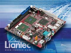 Liantec ITX-6815 Mini-ITX Intel Pentium M Express Platform with Tiny-Bus Modular Extension Solution