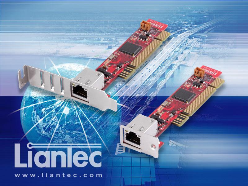 Liantec 1uPCI-1000 Ultra Low Profile 1U Slim PCI Gigabit Ethernet Card