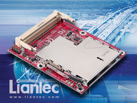 Liantec TBM-1410 Tiny-Bus PCIe-based ExpressCard Module