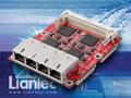 Liantec TBM-1440 Tiny-Bus PCIe Quad Gbit Ethernet Module